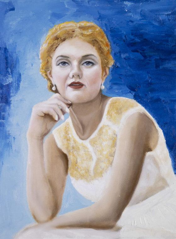 portrait woman andre romijn