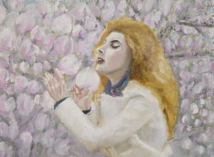 The scent of magnolia by André Romijn
