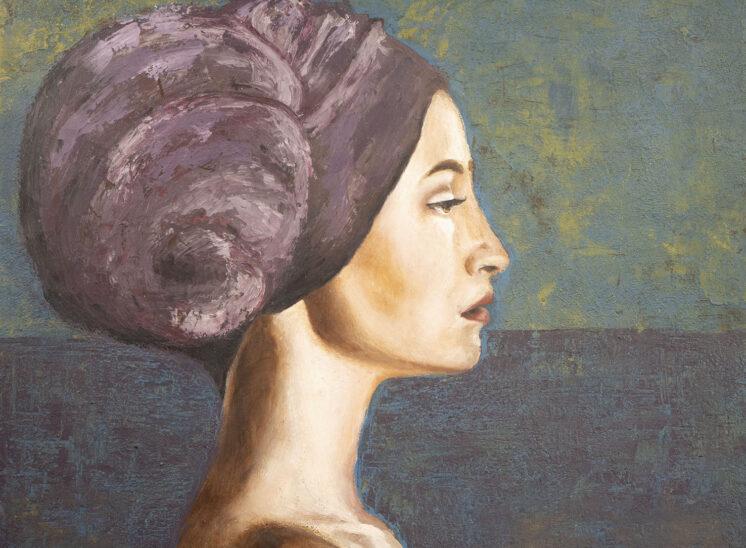 GAIA André Romijn Artist portrait painter