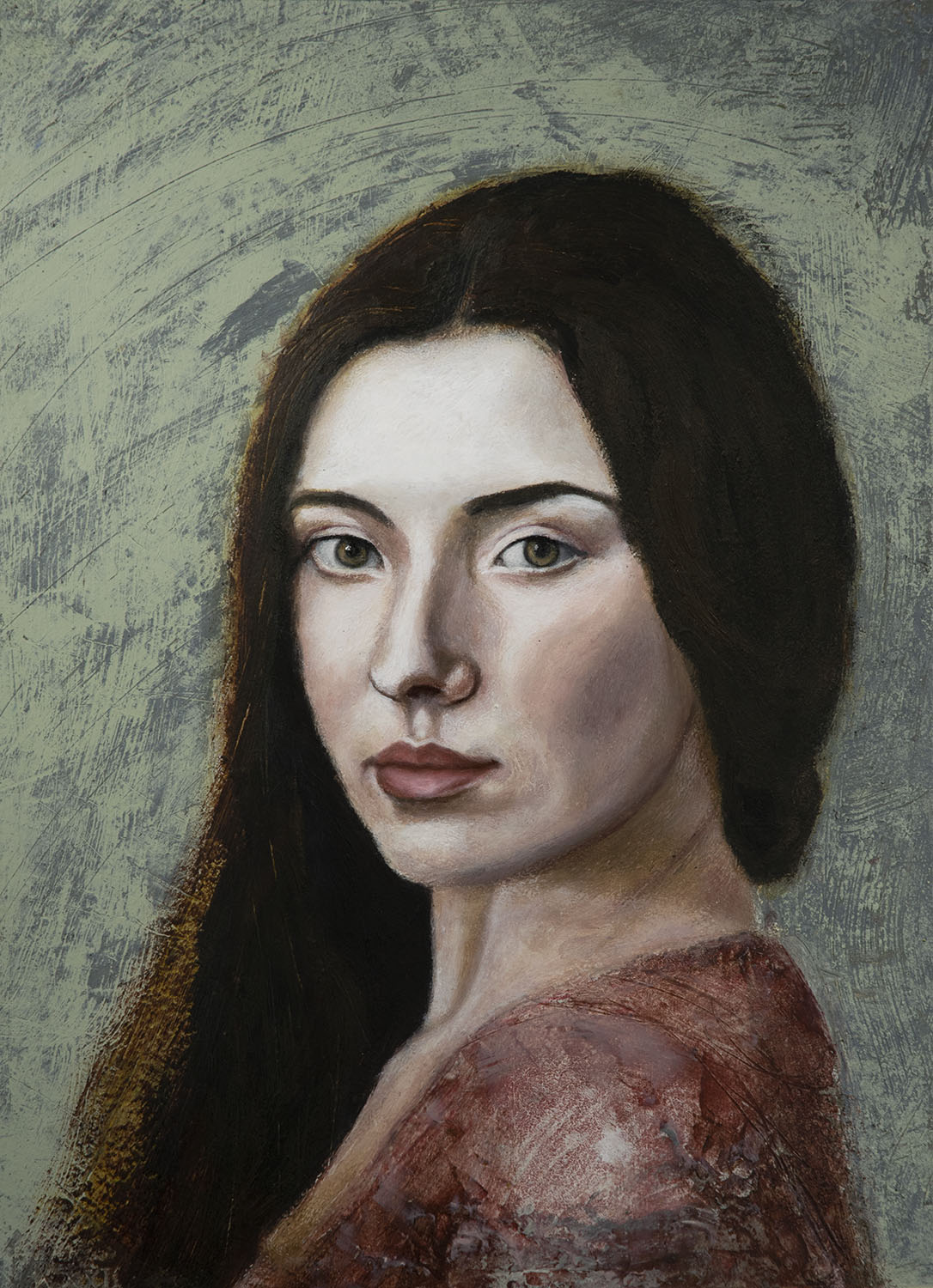 Gloria painting by andre romijn