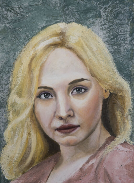 Lucia Andre Romijn painting