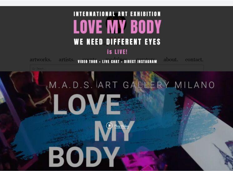 Mads Milano LOVE MY BODY