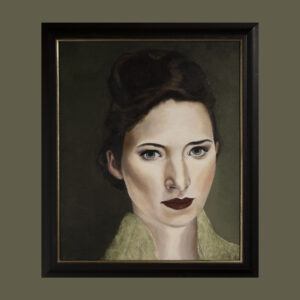 eys are the window to the soul by André Romijn Artist portrait painter