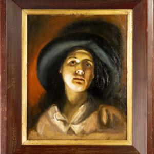 portrait after alois erdtelt by André Romijn Artist portrait painter