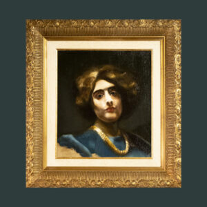 The Necklace after Alice Pike Barney by Andre romijn