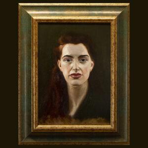 Miranda by André Romijn Artist portrait painter